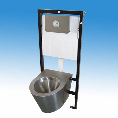 WC öblítés érintésmentesen, kézközelítéssel